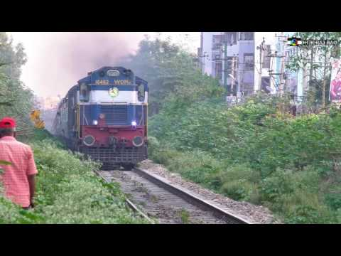 Twin WDM3A Vs WDP4 on Fastest Line Inside Bangalore City