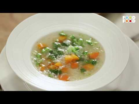 Vegetable soup | Cooksmart | Sanjeev Kapoor Khazana