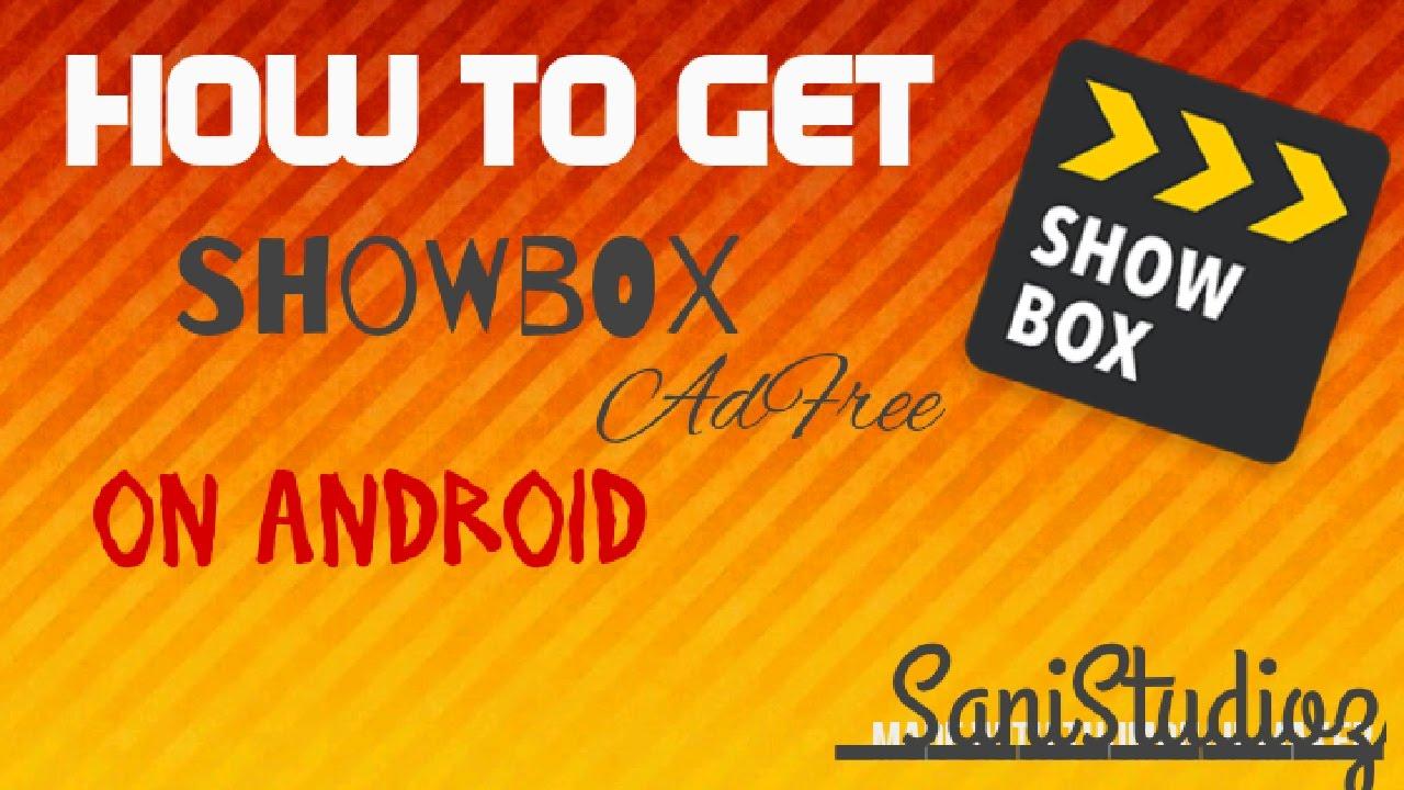 ad free showbox