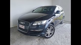 AUDI Q7 Quattro V8 4.2 Diesel Twin Turbo Automatic AWD 2008 Review For Sale