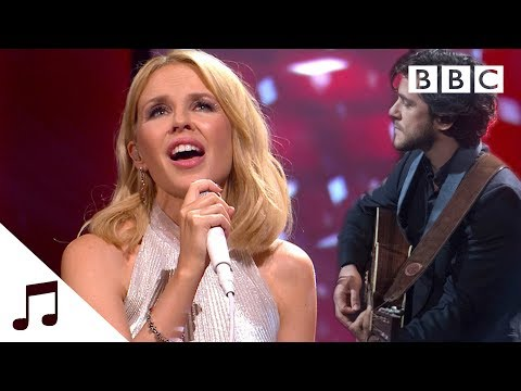 Kylie Minogue And Jack Savoretti Perform 'Music's Too Sad Without You' - BBC