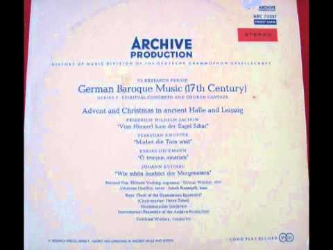 Baroque Christmas Cantatas - YouTube