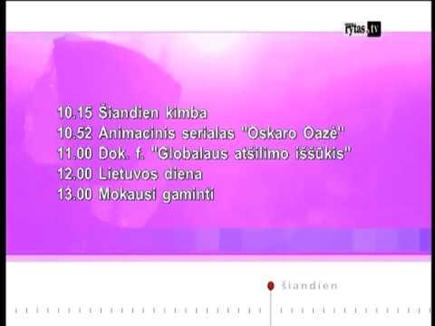 Lietuvos Rytas TV Lithuania - 30.10.2012 Start-up
