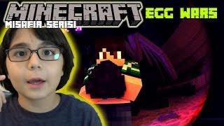 Minecraft Egg Wars ve 2 Misafirim Online( Baran Kadir Tekin )