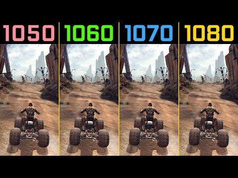 RAGE GTX 1050 Ti vs  GTX 1060 vs  GTX 1070 vs  GTX 1080