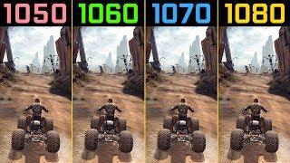 RAGE GTX 1050 Ti vs. GTX 1060 vs. GTX 1070 vs. GTX 1080 (1440p)