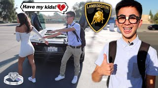 Nerd Pulls a Wife, Not a Gold Digger With 2021 Lamborghini! *PLOT TWIST*