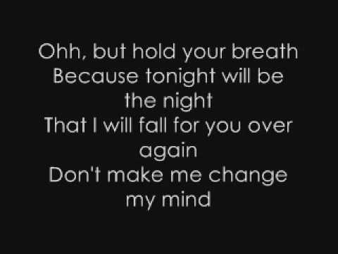 Fall For You Lyrics [ Secondhand Serenade]