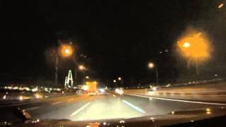 名港中央大橋と名港西大橋_伊勢湾岸自動車道