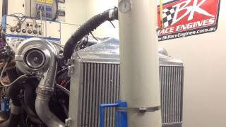Project Wild Violence TTV8 Engine Dyno