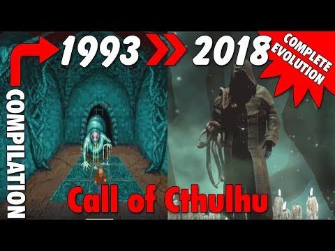 Evolution Of Call Of Cthulhu (1993-2018)