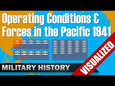 [Pacific] Balance of Force & Operating Conditions in 1941