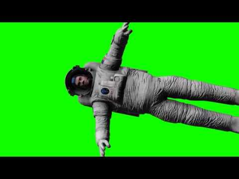FREE HD Green Screen - NASA ASTRONAUT FLOATING IN SPACE