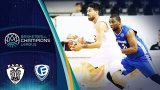 PAOK v Fribourg Olympic - Full Game - Basketball Champions League 2018-19