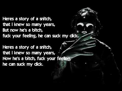 Deuce - Story Of A Snitch (W / Lyrics)
