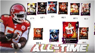 THE ALL-TIME KANSAS CITY CHIEFS THEMED TEAM! Madden 19 Ultimate Team