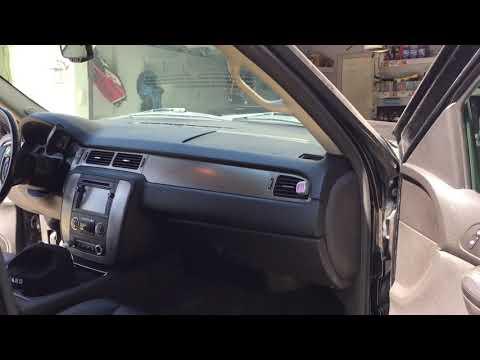 Cracked Dash Yukon, Tahoe, Suburban, Sierra, Silverado, Avalanche Dash Cover Dash Cap Install