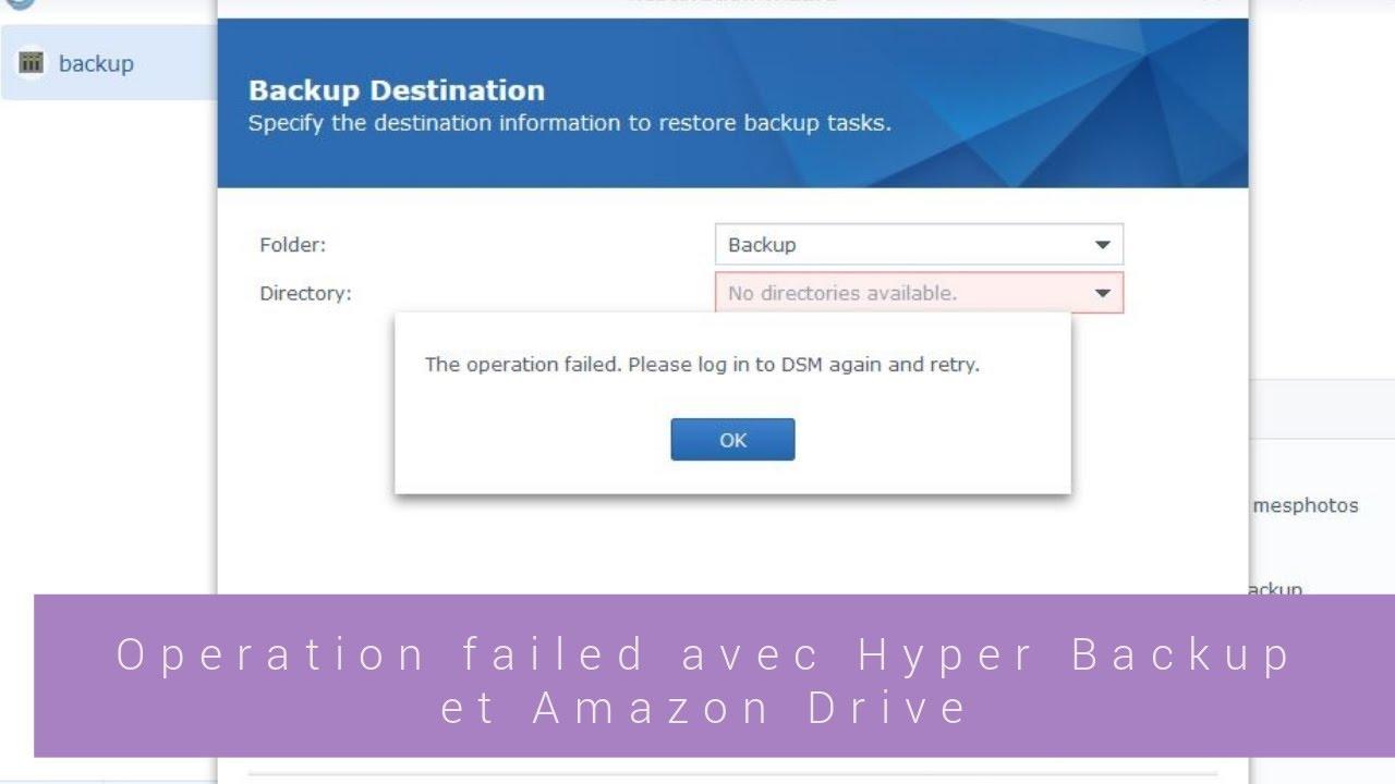 Amazon Drive Backup