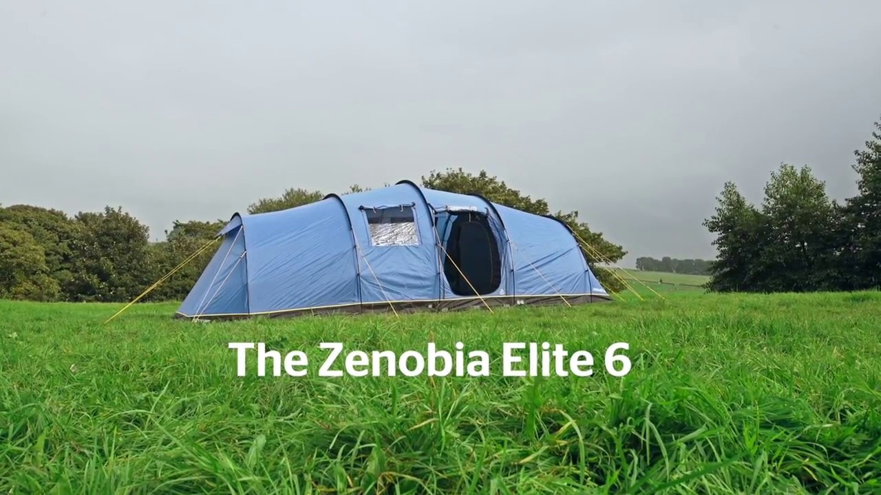 238e0bf5e7b Hi Gear Zenobia Elite 6 Tent - YouTube