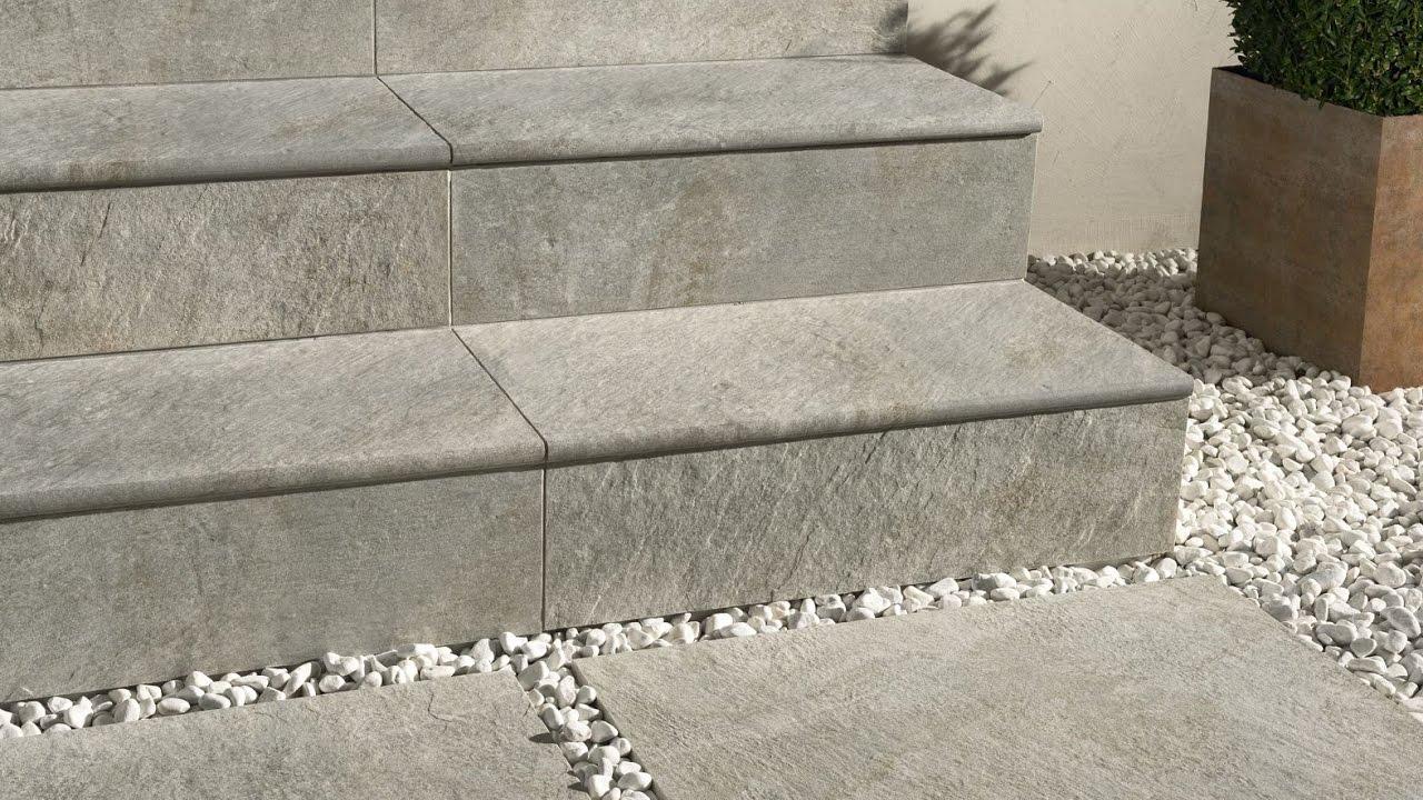 External Floor Tiles for Steps London Design - YouTube