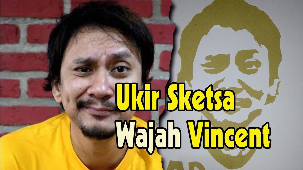 Ukir Sketsa Wajah Vincent Tonight Show Net TV