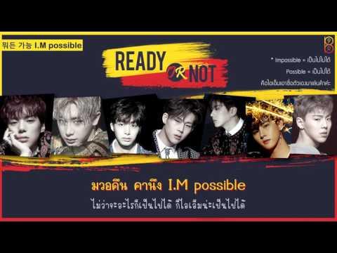 [Karaoke-Thaisub] Ready Or Not - MONSTA X(몬스타엑스) #89brฉั๊บฉั๊บ