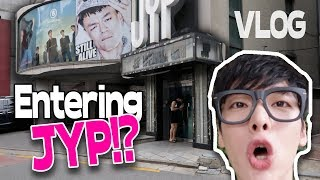 I'm entering JYP Building! Tips to meet KPOP Stars in person?