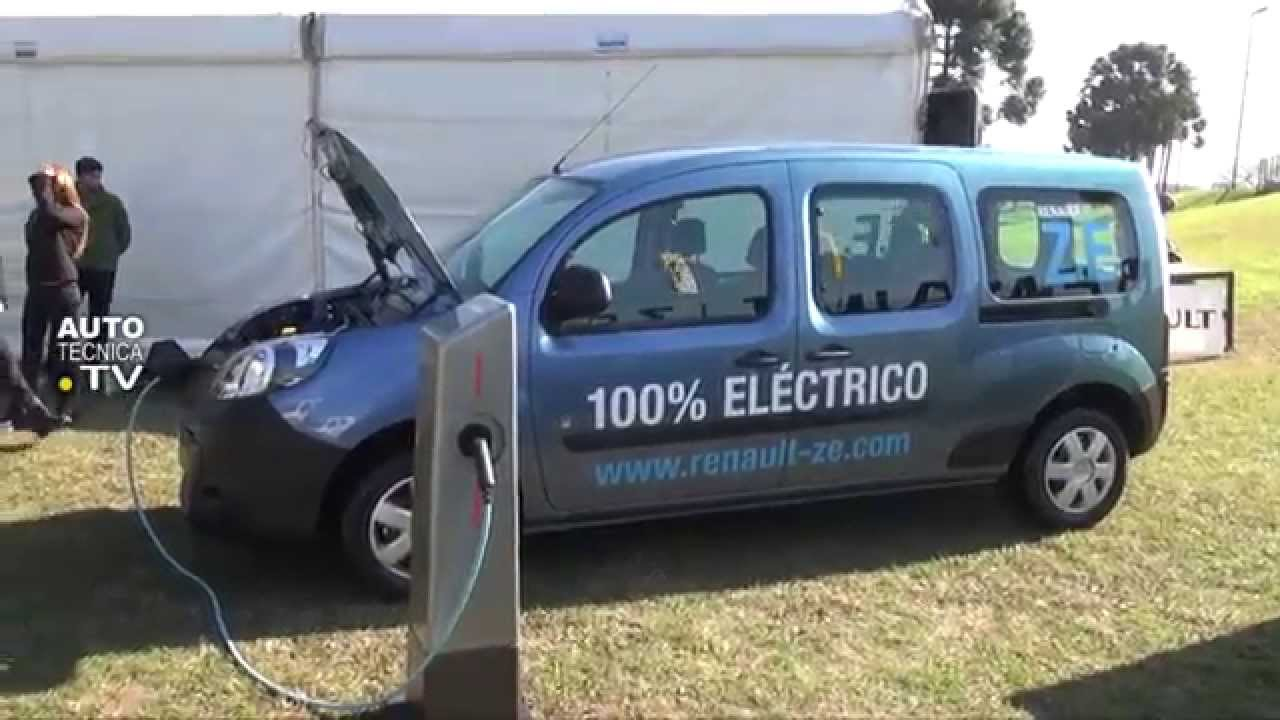 renault kangoo ze el primer utilitario el ctrico en argentina youtube. Black Bedroom Furniture Sets. Home Design Ideas
