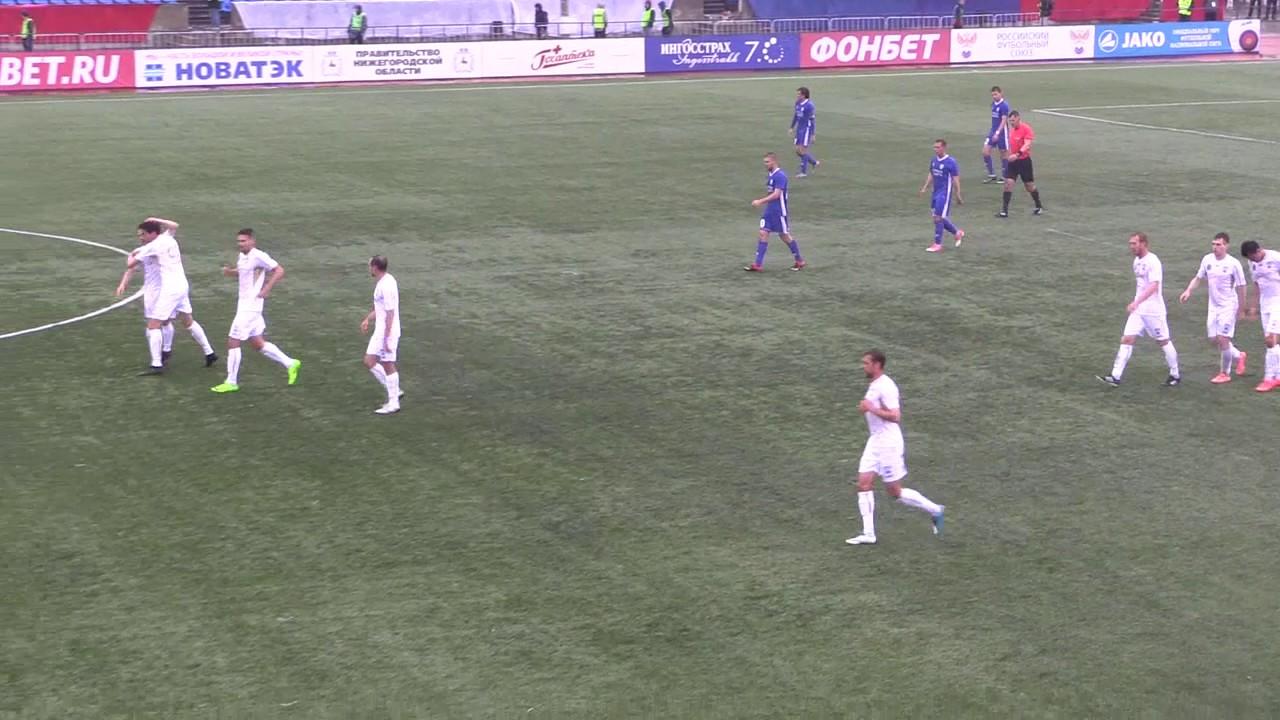 Олимпиец - Авангард Курск 2:2 видео