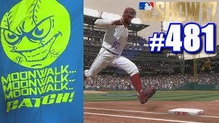 SOMEONE GAVE ME A MOONWALK SHIRT! | MLB The Show 17 | Road to the Show #481