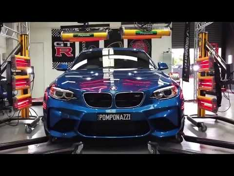 Paint Protection Melbourne - Car Detailing Correction On BMW M2 With Pomponazzi Glass Coating