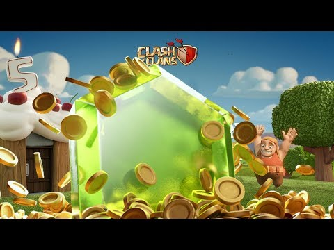 2000 FREE GEMS FOR ALL MY CLAN MATES | Clash of Clans 5th Anniversary Clan War