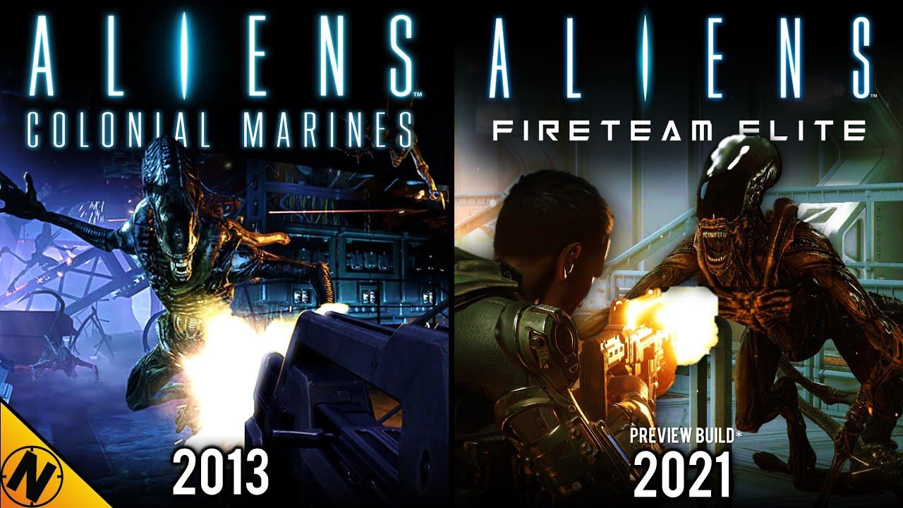 Aliens: Fireteam Elite [ALPHA] vs Aliens: Colonial Marines | Direct Comparison