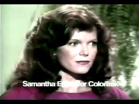 RCA ColorTrak TV Commercial Samantha Eggar, 1976