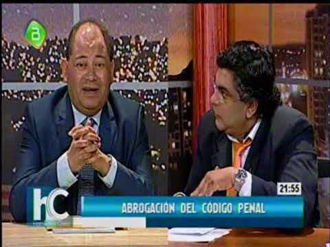 Hablemos Claro: Ministro Carlos Romero sobre la Abrogacion del Codigo Penal 1/2