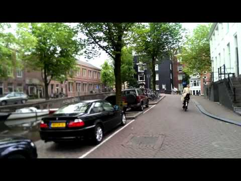 Cycling Reguliersgracht - grachtengordel Amsterdam