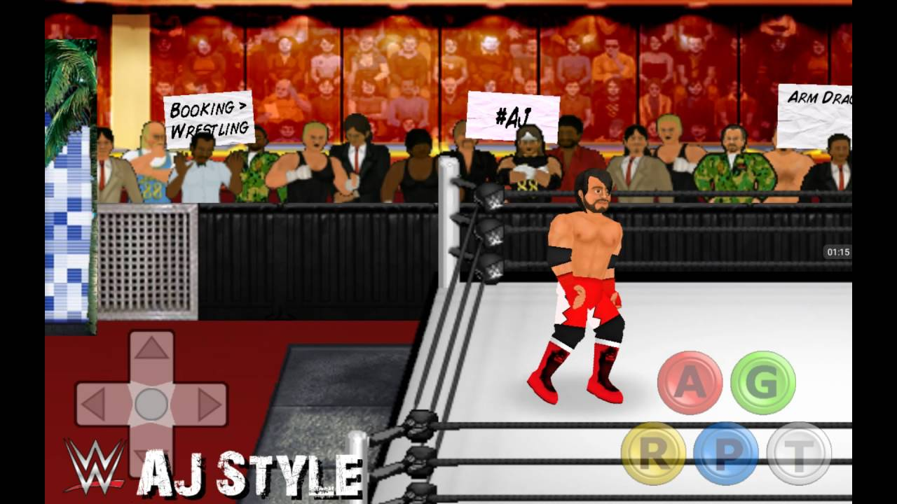 Booking Revolution (Roman Reign Vs AJ Style) with interference Neville