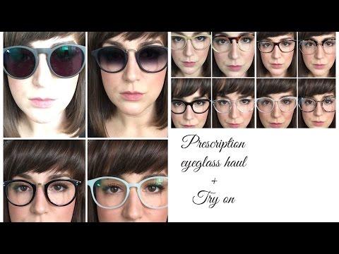 EyeGlasses Haul and Try On- EyeBuyDirect, Firmoo, etc.