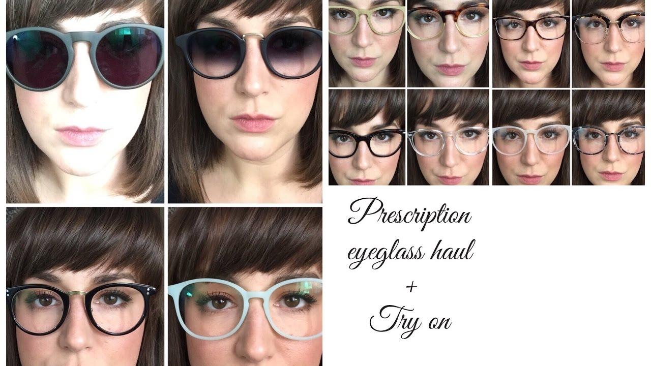 c9f06e7d5ec EyeGlasses Haul and Try On- EyeBuyDirect