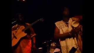 "Habib Koité, Dobet Gnahoré & Kareyce Fotso-""Fimani/Fatma"" Moods, Zurich, Switzerland 6/15/12"