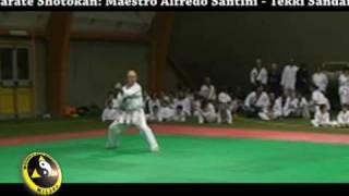 Karate Shotokan - Maestro Santini - Tekki Sandan