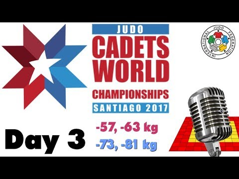 World Judo Championship Cadets 2017: Day 3