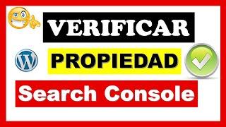 🔴 VERIFY Domain (Property) in Google Search Console 2020