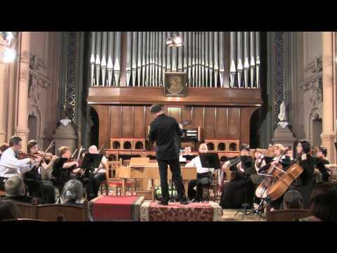 Frantisec Xaver Brixi Concerto for organ and orchestra in F-major