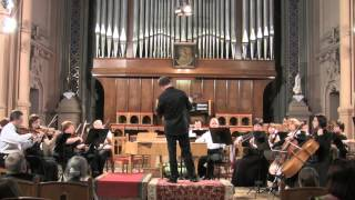 Frantisec Xaver Brixi Concerto for organ and orchestra in F-major