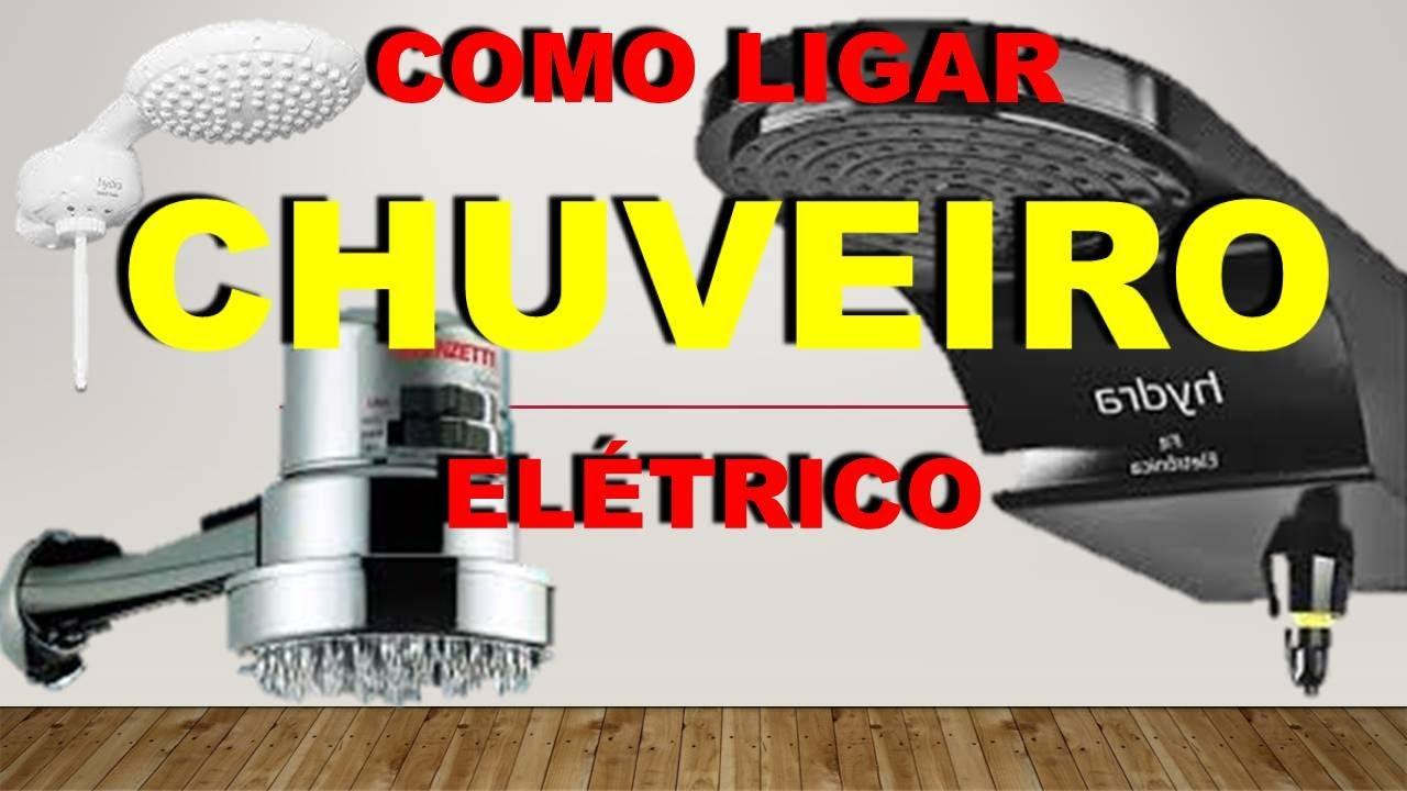 Como Ligar Chuveiro Elétrico / How to Turn on Electric Shower