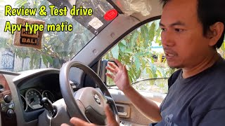 Review and test drive suzuki APV type matic