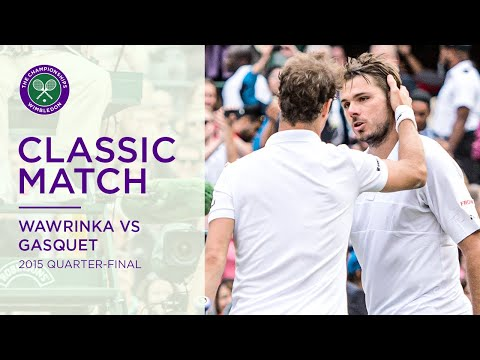 Stan Wawrinka Vs Richard Gasquet | 2015 Quarter-final Replayed