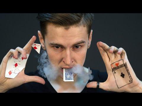 Видео, ЛУЧШИЕ ФОКУСЫ С КАРТАМИ  Magic Five