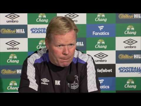 Ronald Koeman's pre-Bournemouth press conference